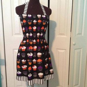 StellarCheri Halloween Goth Cupcake Mini Dress